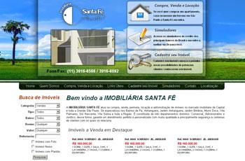 Imobiliária Santa Fé